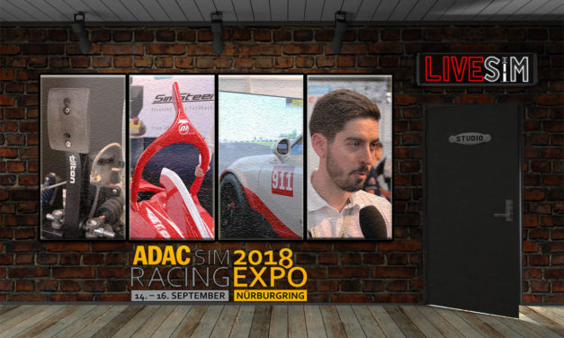 La Simracing Expo en podcast avec LIVE-SIM