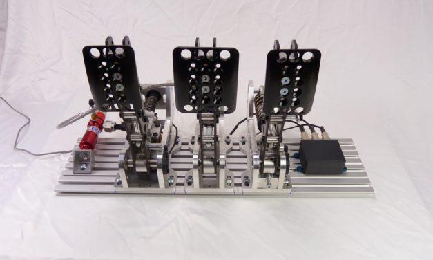 Un prototype de pédalier hydraulique chez SSRG