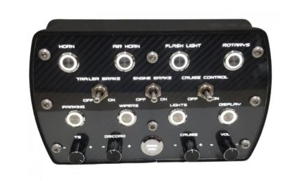 Button-Box ASR Lighting 2 par ASTUR SIM RACE