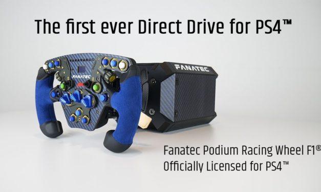 Fanatec Podium : Du Direct-Drive aussi pour PS4