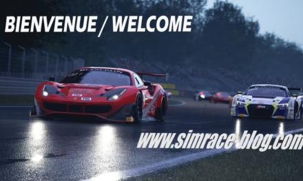 Bienvenue sur le nouveau Simrace-Blog