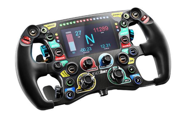 Un nouveau volant pour CUBE CONTROLS : le Formula CSX
