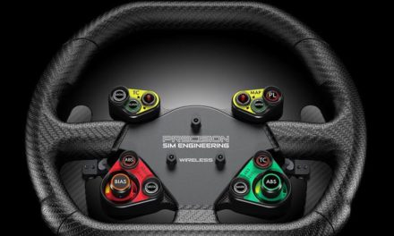 PRECISION SIM ENGINEERING : Volant GT3 Wireless