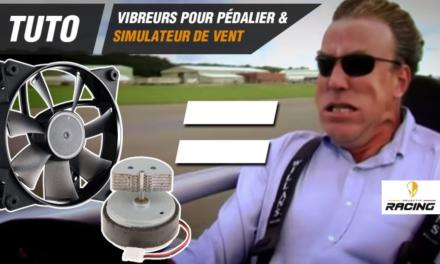 Vibration de pédales et simulateur de vent DIY : Mode d'emploi avec OBJECTIF-RACING