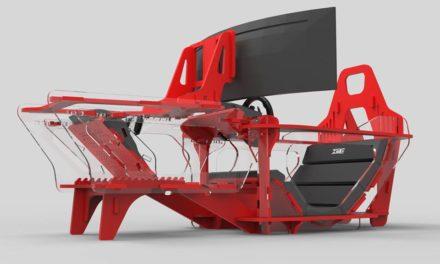 Cockpit Formula X de HM ENGINEERING : de la monoplace et toujours de la transparence