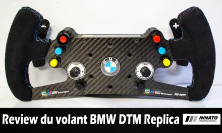 Review du volant BMW DTM Replica de chez INNATO