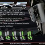 SIMXPERIENCE GS-5 : Le nouveau G-Force Seat est disponible
