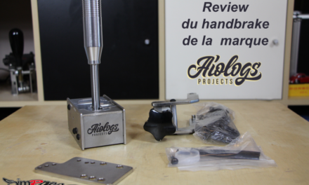 Review du frein à main AIOLOGS Handbrake