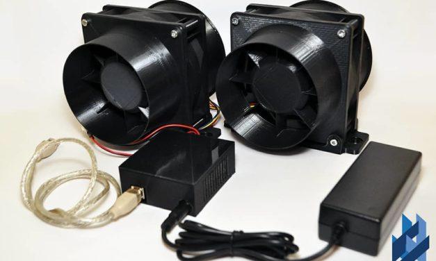 2 wind simulators pour la marque DCD SIMULATION : le 300CFM & le 500CFM