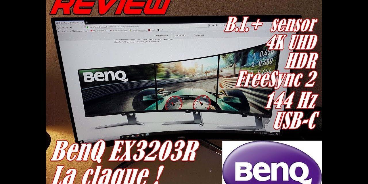 Ecran spécial SimRacing BenQ EX3203R 32″ : la review de Franconen