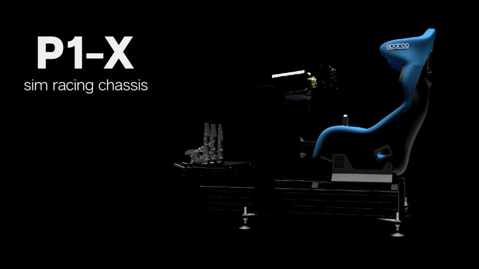 Après son modèle P1, SIM-LAB annonce le châssis P1X