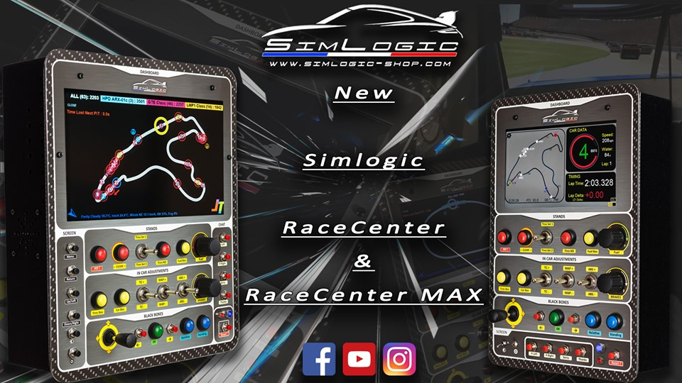 RaceCenter de SIMLOGIC : Bien plus qu'une button-box