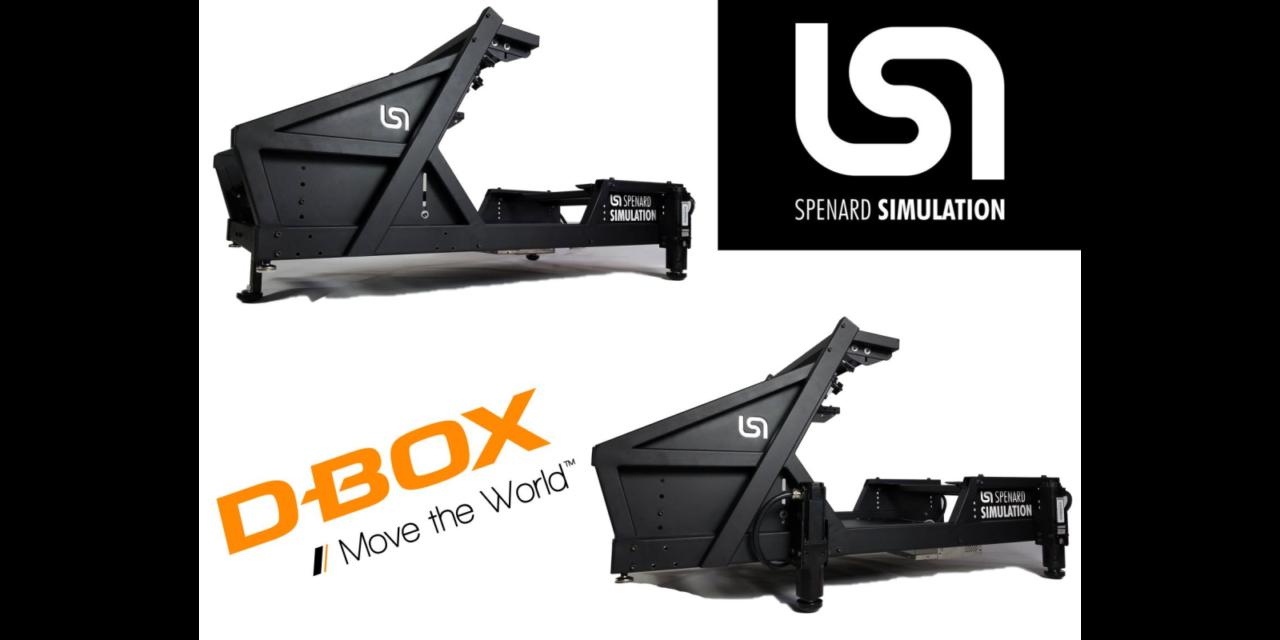 Le cockpit SPENARD SIMULATION passe au dynamique : D-Box inside