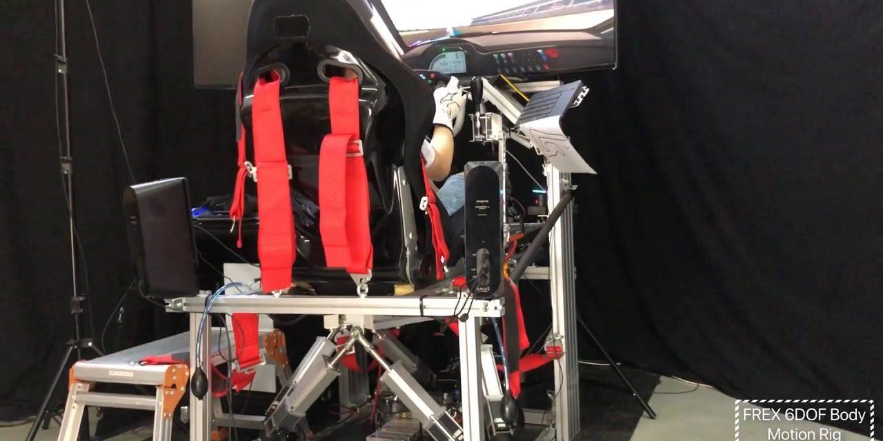 FREX Body Motion Simulator : Le 6 DOF autrement