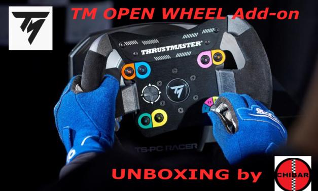THRUSTMASTER TM Open Wheel : Petite présentation avec CHIBAR