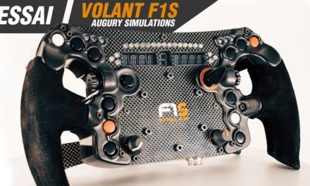 Review du volant F1S de SIMULAJE & AUGURY par Objectif-Racing