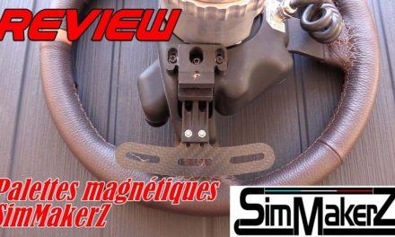 Des palettes magnétiques pour volant FANATEC avec SimMakerZ & review de Franconen