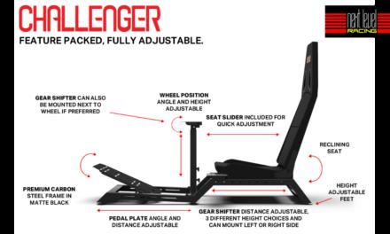 NEXT LEVEL RACING présente le Challenger Simulator Cockpit