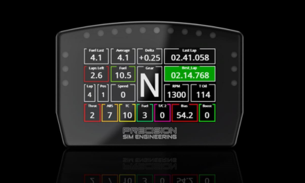 Splendide Dashboard pour PRECISION SIM ENGINEERING : Le DDU