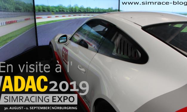 Visite à la Sim Racing Expo 2019 au Nurburgring