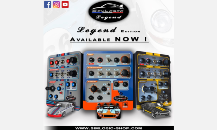 SIMLOGIC, les RaceBox maintenant en LEGEND EDITION