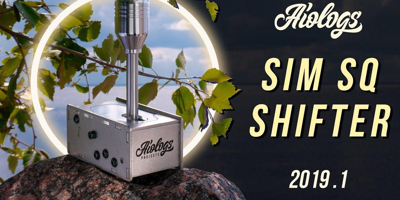 Le Sim SQ Shifter d'AIOLOGS se dévoile en vidéo