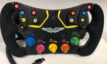 Volant aux couleurs d'Aston Martin bientôt chez INNATO