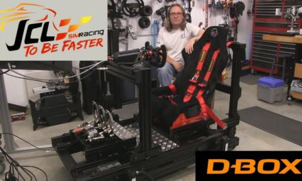 JCL SIMRACING V4 D-Box Motion en review dans le SIM RACING GARAGE