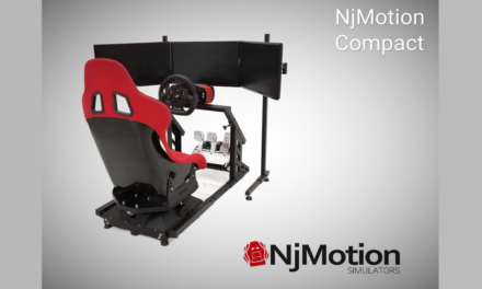 """Compact"" : Le simulateur 2 DOF de NJ MOTION"