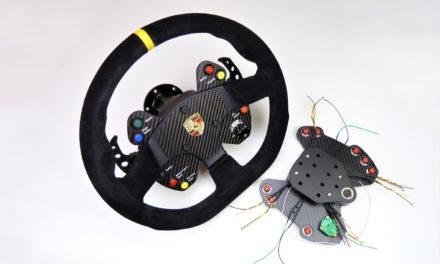 Une interprétation du volant de la Porsche GT3 Cup et un Hub pour SSRG