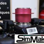 Palettes magnétiques SimMakerZ pour volant Fanatec