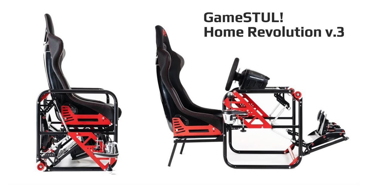GameSTUL! Home Revolution 3 : le simulateur pliable