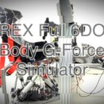 Le simulateur FREX 6DOF Body G-Force Motion en action