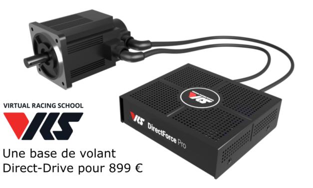 VRS : la base de volant DirectForce PRO bientôt disponible pour moins de 900 €