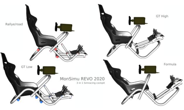 MONSIMU version 2020 : Le cockpit 3 en 1