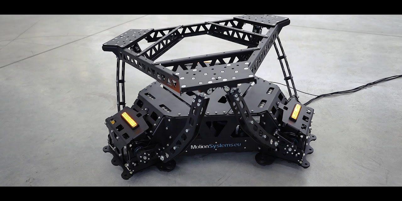 Plateformes 3DOF et 6DOF MOTION SYSTEMS : de belles réalisations