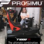 Le PROSIMU T1000 5M chez Sim Racing Garage