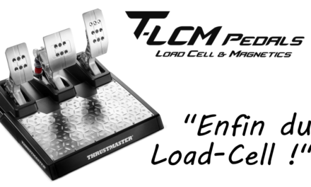 THRUSTMASTER T-LCM : Enfin du Load-Cell !
