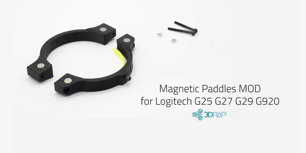 Des palettes magnétiques pour votre volant Logitech