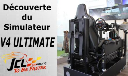 petit tour au Portugal pour découvrir le simulateur V4 Ultimate de JCL SIMRACING