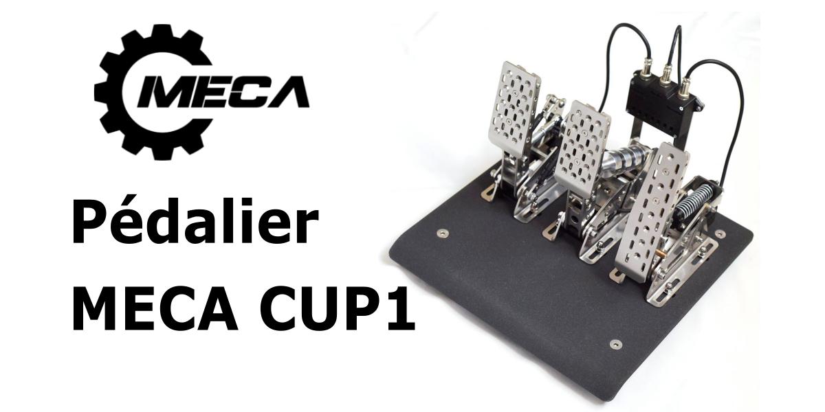 Pédalier MECA CUP1 par MECA : une belle réalisation