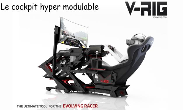 Cockpit V-RIG : Vous-avez dit ajustable ?