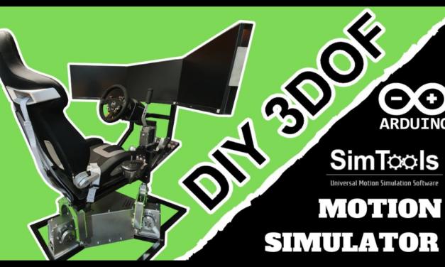 Une superbe réalisation DIY d'un simulateur 3DOF