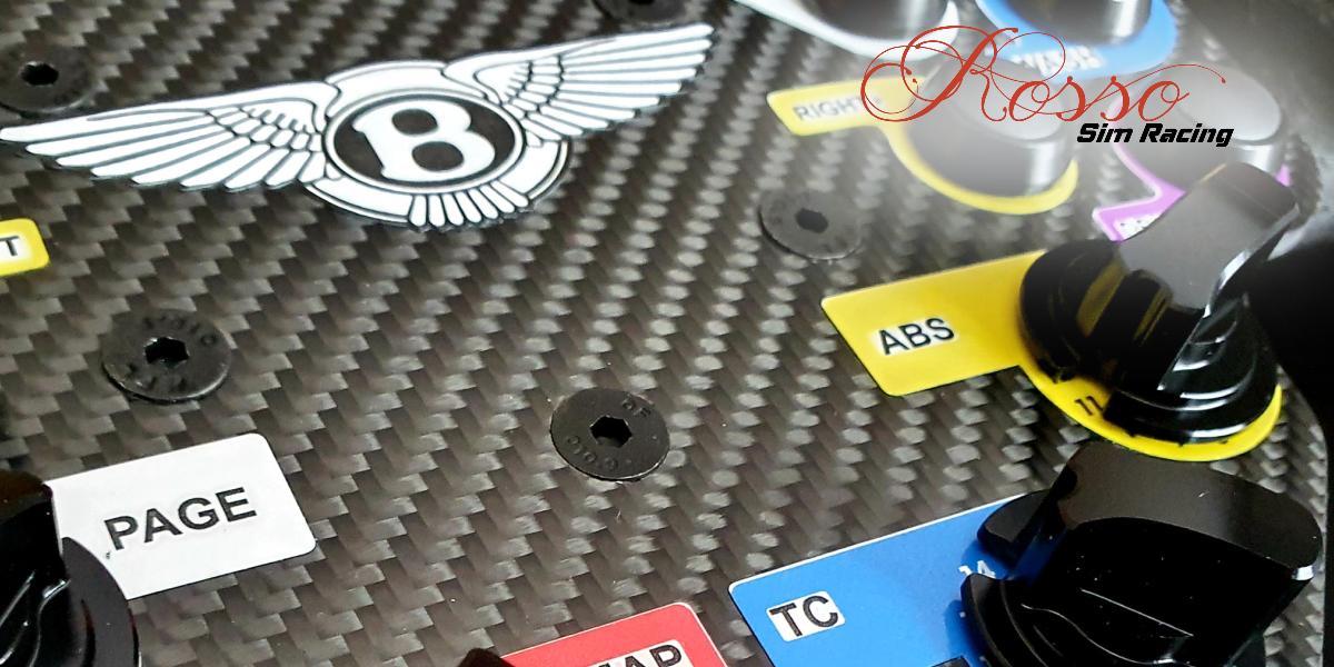 Volant Bentley GT3 par ROSSO SIM RACING