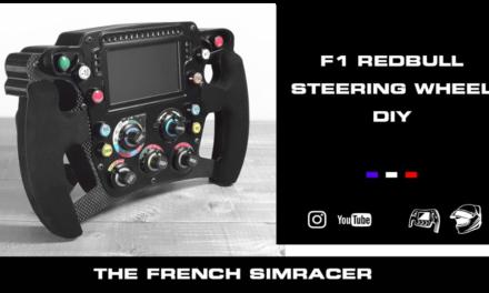 Volant ITR RedBull Replica vue par The French Simracer