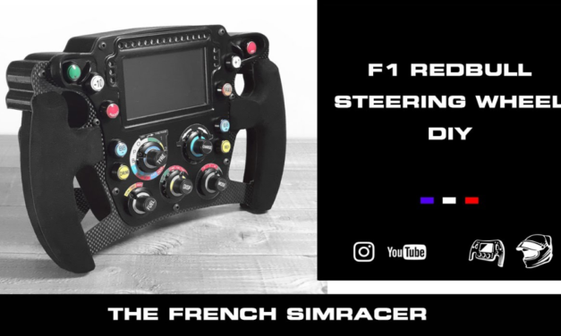Volant ITR RedBull Replica vue par The French Simracer