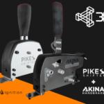 Shifter PIKES et Handbrake AKINA : De la nouveauté chez 3DRAP