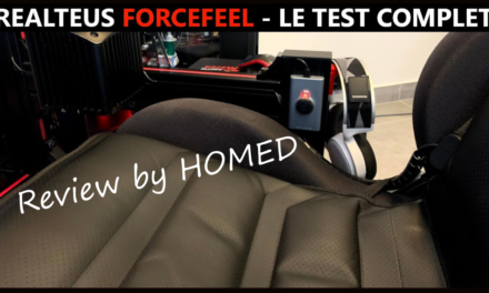 Review du REALTEUS Forcefeel par HOMED