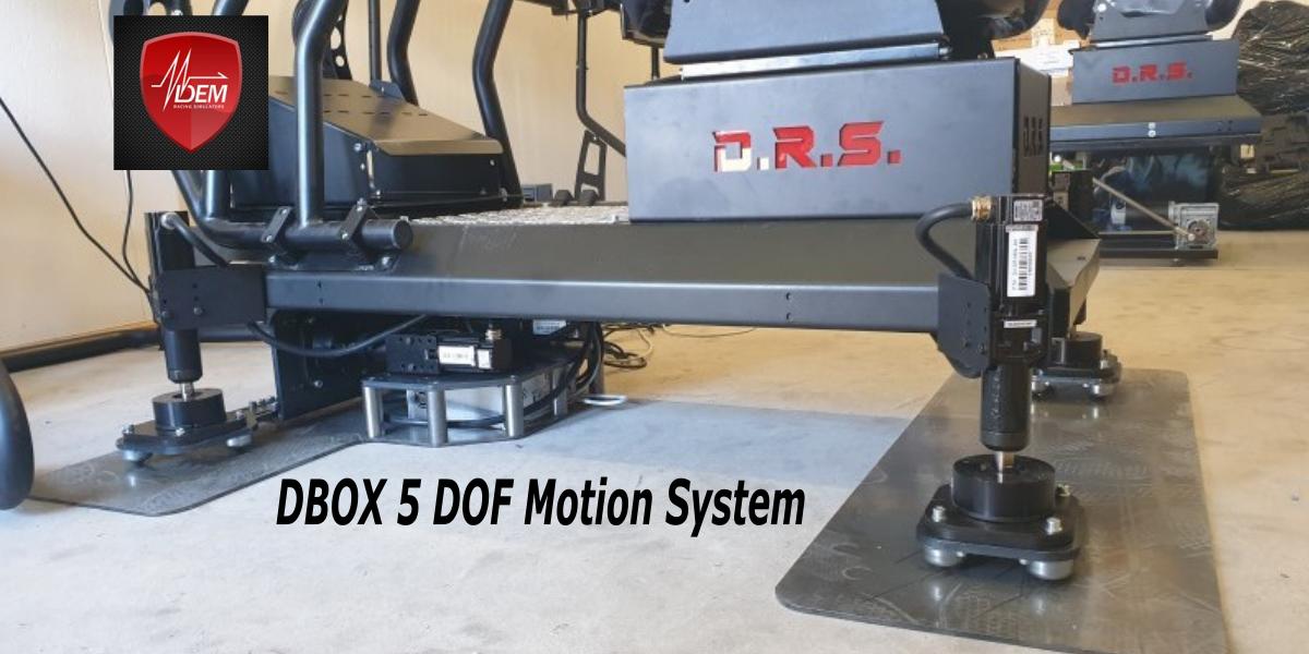 Une belle innovation à la sauce D-Box pour DEM RACING SIMULATORS