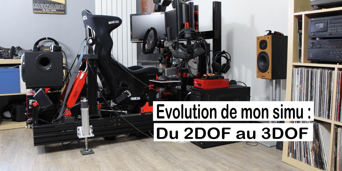 Evolution du JCL V3 Fury Dynamique : 4 vérins pour 1 DOF de plus !